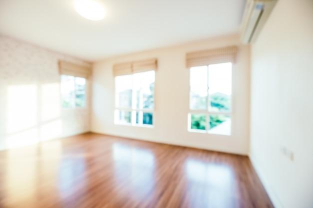 抽象的なぼかし部屋のインテリアの背景 無料写真