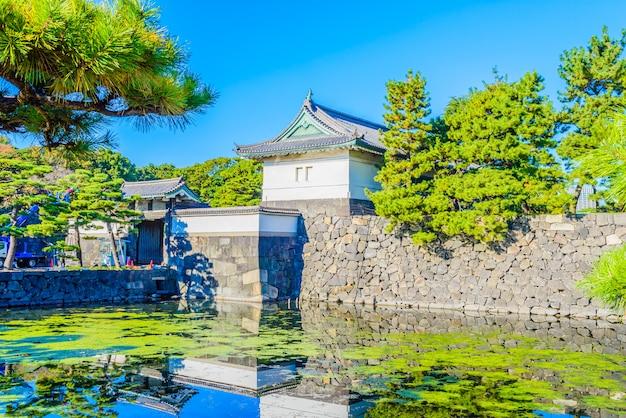 Императорский дворец в токио, япония Бесплатные Фотографии
