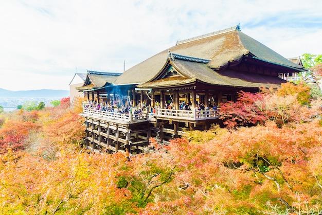 京都の清水寺の美しい建築 無料写真