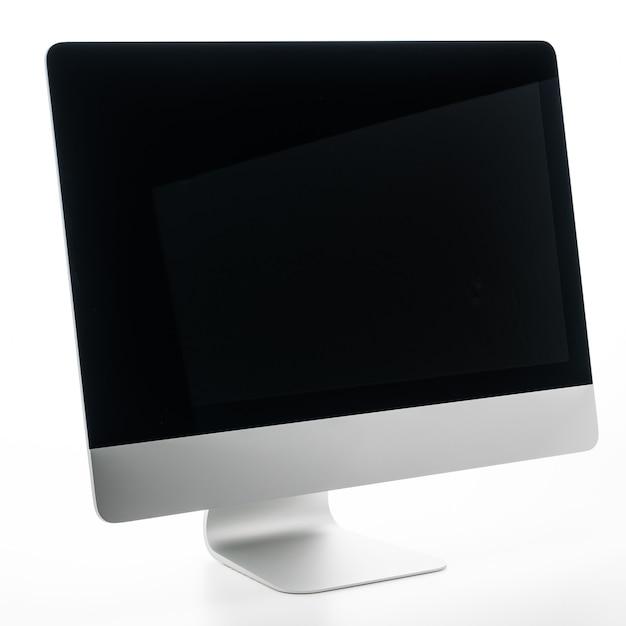 空白のデスクトップコンピューター 無料写真