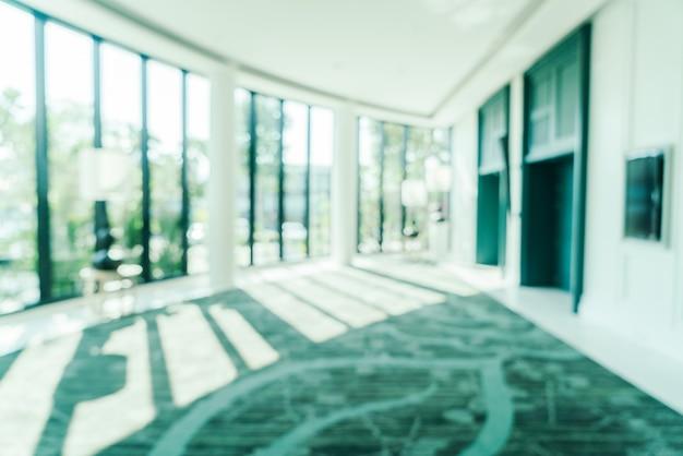 ホテルのロビーをぼかし 無料写真