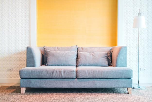装飾リビングルームのインテリア 無料写真