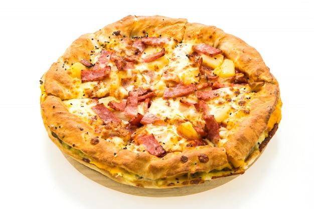木製トレイのピザ 無料写真