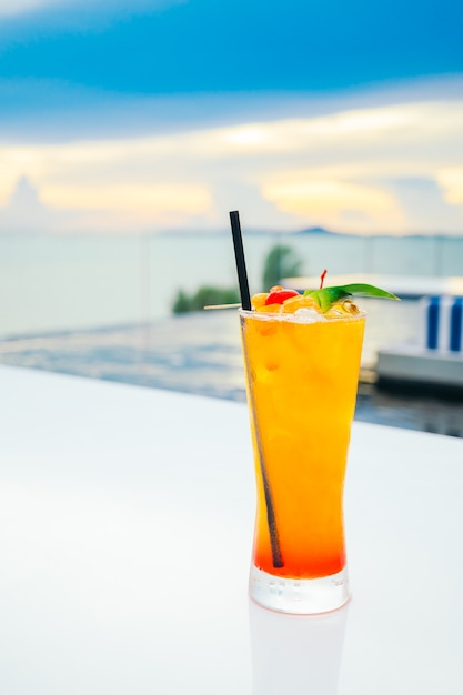 Ледяные коктейли из стекла Бесплатные Фотографии