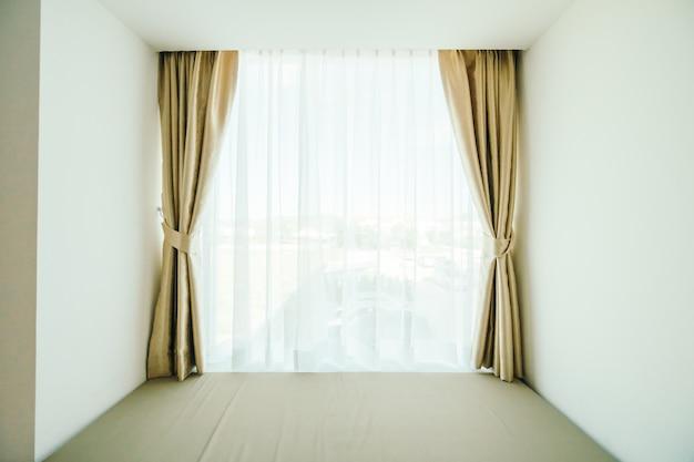 カーテン装飾窓 無料写真