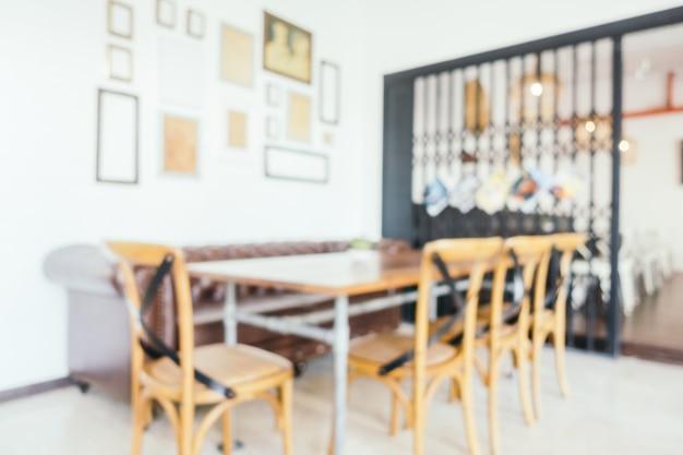 抽象的なぼかしレストラン 無料写真