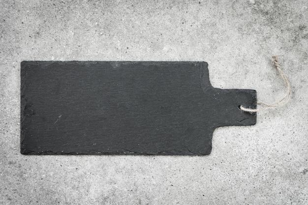 Шифер на черном каменном фоне Бесплатные Фотографии