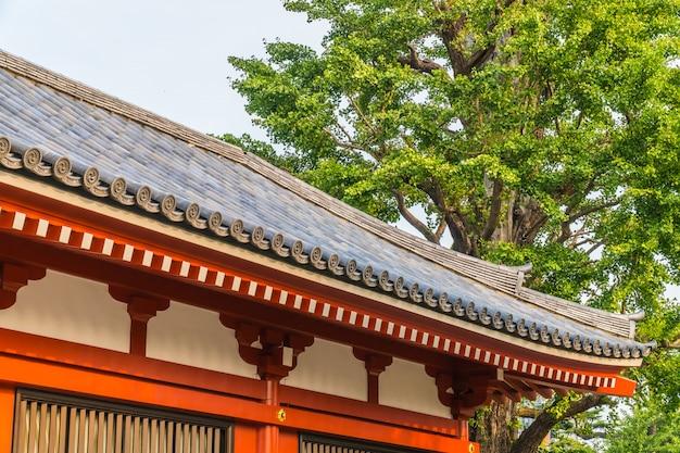 美しい建築物館浅草寺は浅草地域を訪問するのに有名な場所です 無料写真
