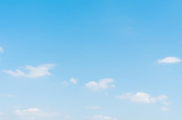 青い空白い雲 無料写真