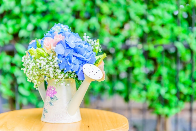 花束の花アジサイ 無料写真