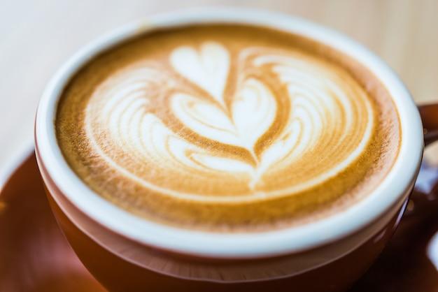 ラテコーヒー 無料写真