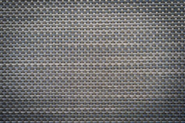 グレーと黒のレザーコットンテクスチャ背景 無料写真