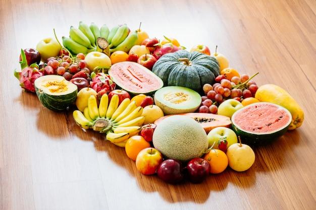Ассорти и смешанные фрукты Бесплатные Фотографии