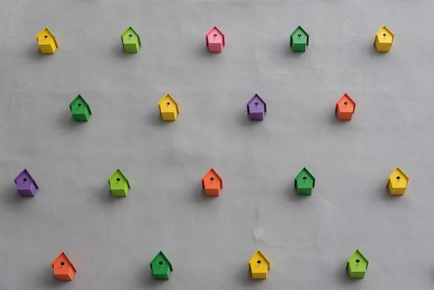 屋外の壁の装飾 Premium写真