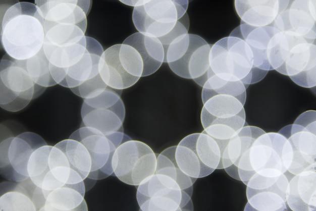 クリスマスライトの背景の柔らかい色スタイルで鮮やかなボケ味 Premium写真