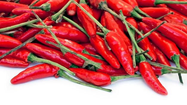 Стек бразильского красного перца Premium Фотографии
