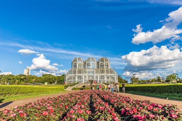 クリティバの植物園。ブラジル、パラナ州 Premium写真