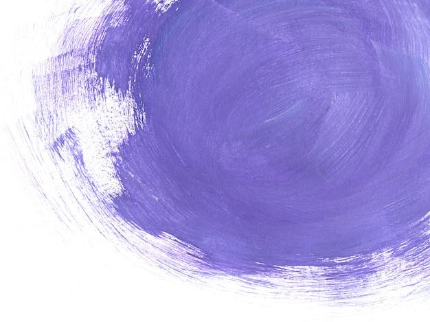 紫の筆の抽象的な背景 Premium写真