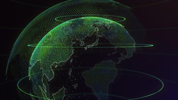 デジタルアースグローバルネットワーク Premium写真