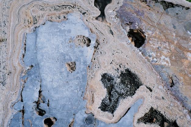 Ржавый коричневый камень текстуры поверхности фона Premium Фотографии
