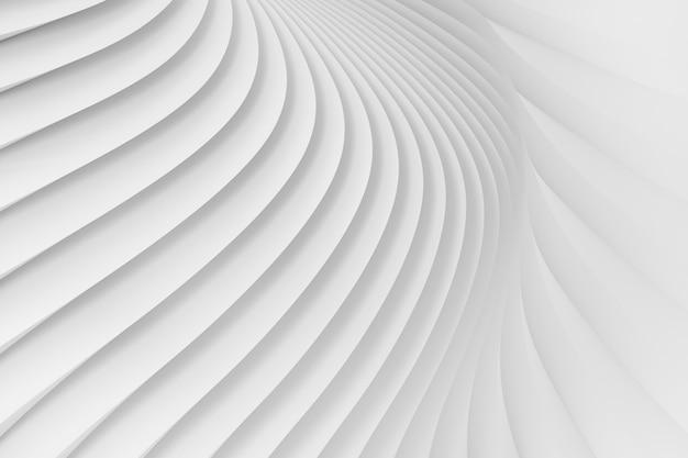 白いストライプの放射状のサラウンドのテクスチャ。 Premium写真