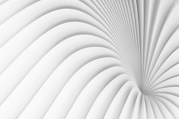 発散する白いストライプの背景 Premium写真