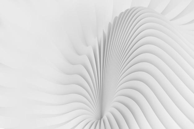 Абстрактный фон из серпантинных волн Premium Фотографии