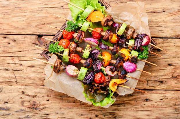 野菜串焼き Premium写真