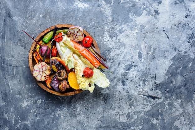 野菜のグリルプレート Premium写真