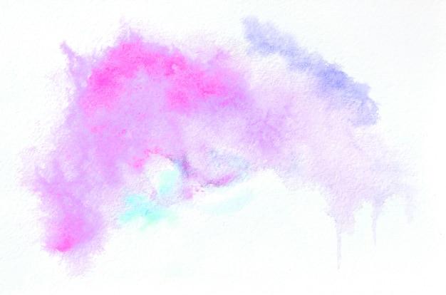 あなたのデザインのミックストーンで手描き水彩の形。創造的な塗られた背景、手作りの装飾 Premium写真