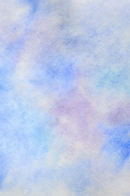 水彩ストロークと滴の形で抽象的な背景 Premium写真