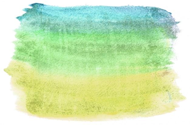 あなたのデザインの温かみのある色調で手描き水彩図形。創造的な塗装の背景、手作りの装飾 Premium写真