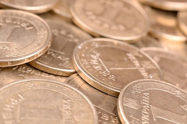 経済的な成功ウクライナのお金の背景 Premium写真