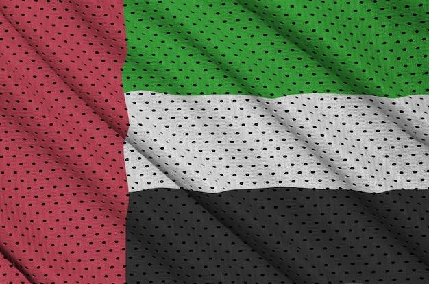 ポリエステルナイロンスポーツウェアにアラブ首長国連邦の旗を印刷 Premium写真