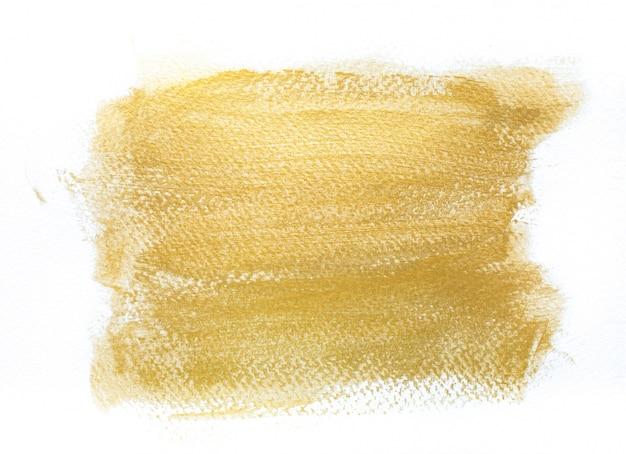 Фон золотые штрихи ручной работы Premium Фотографии