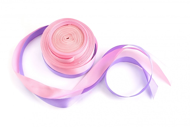 Рулон цветной ленты для изготовления и декорирования Premium Фотографии