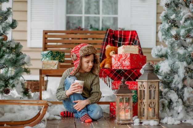 クリスマスプレゼント Premium写真