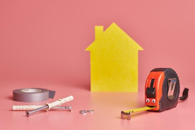 家の改修面白いコンセプト。 Premium写真