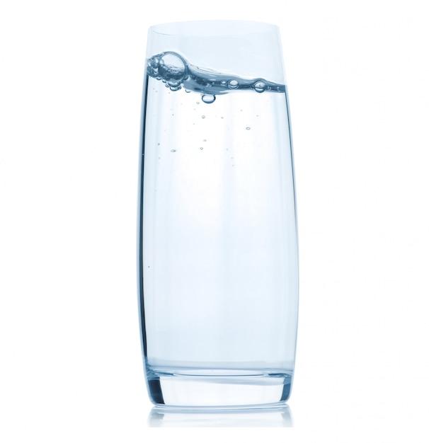 Стакан с водой Premium Фотографии