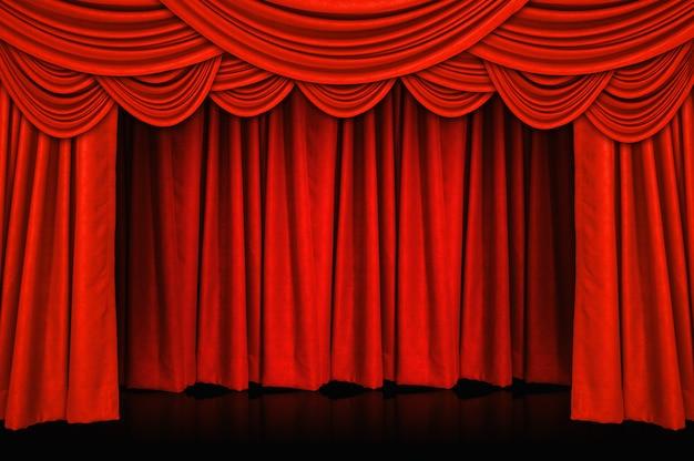 カーテンと舞台 Premium写真