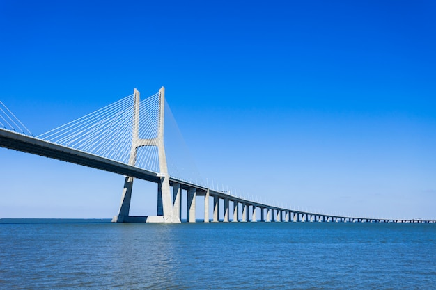バスコダガマ橋 Premium写真