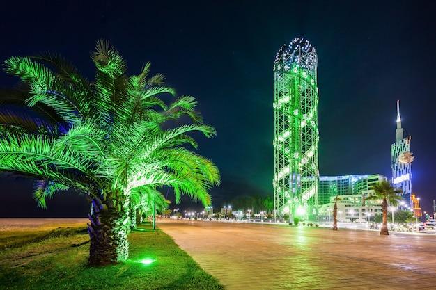 アルファベットタワー、バトゥミ Premium写真