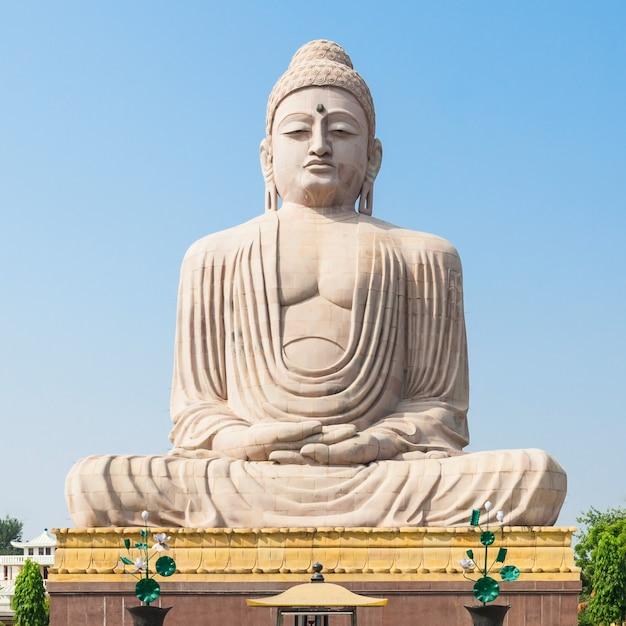 Храм махабодхи, бодхгая Premium Фотографии