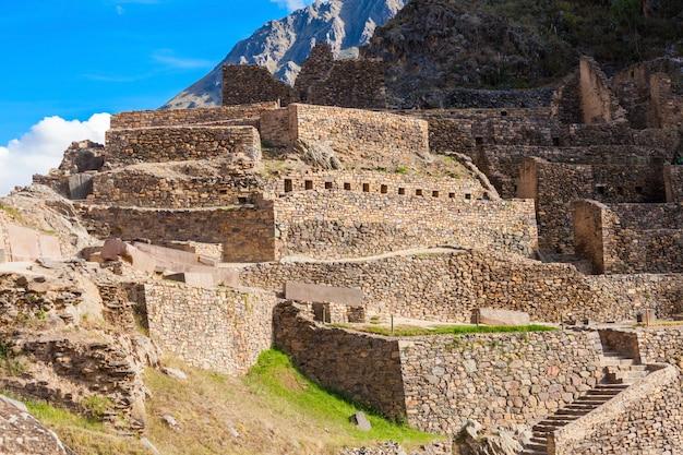 Руины ольянтайтамбо Premium Фотографии