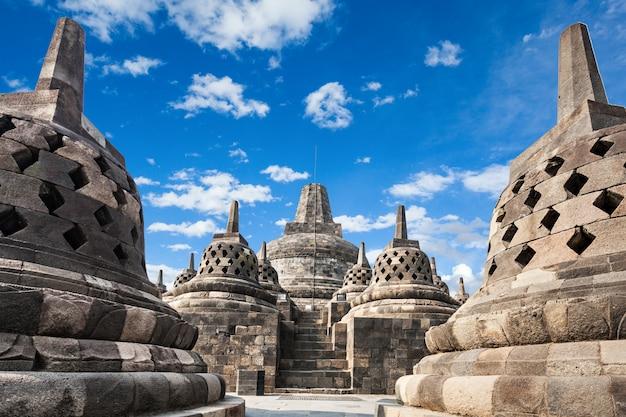 ボロブドゥール寺院 Premium写真
