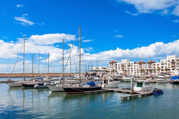 Город агадир, марокко Premium Фотографии