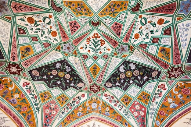 宮殿、ジャイプールのパターン Premium写真