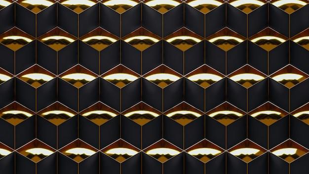 Геометрический рисунок на поверхности ар-деко Premium Фотографии