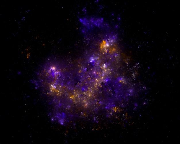 Звездное поле фон Premium Фотографии