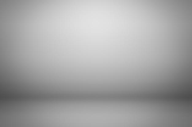 グレーのグラデーションの背景。製品の背景を表示します。 Premium写真